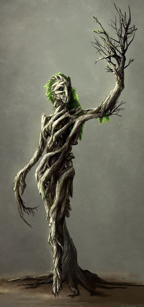 Dryad/Enchanted Forest/Earth Spirit/Tree Spirit   Créature