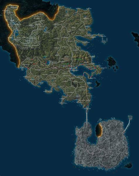 Full Sized Map of Defiance : Defiance